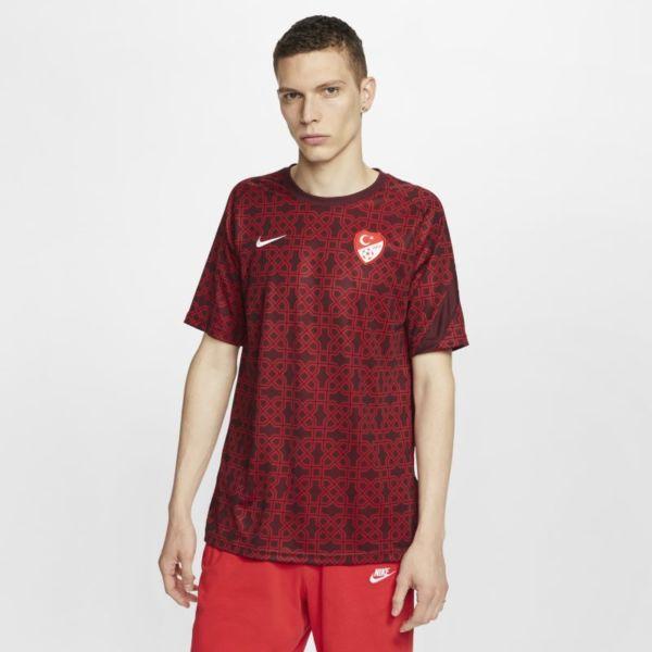 Turquía Camiseta de fútbol de manga corta - Hombre - Rojo