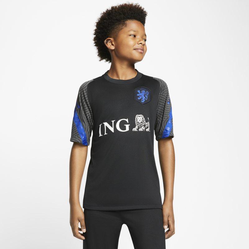 Strike Países Bajos Camiseta de fútbol de manga corta - Niño/a - Negro