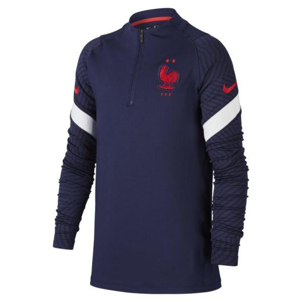 Strike FFF - Camiseta de fútbol de entrenamiento - Niño/a - Azul