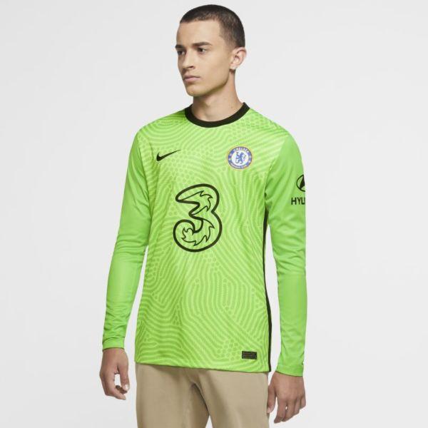 Equipación de portero Stadium Chelsea FC 2020/21 Camiseta de fútbol - Hombre - Verde