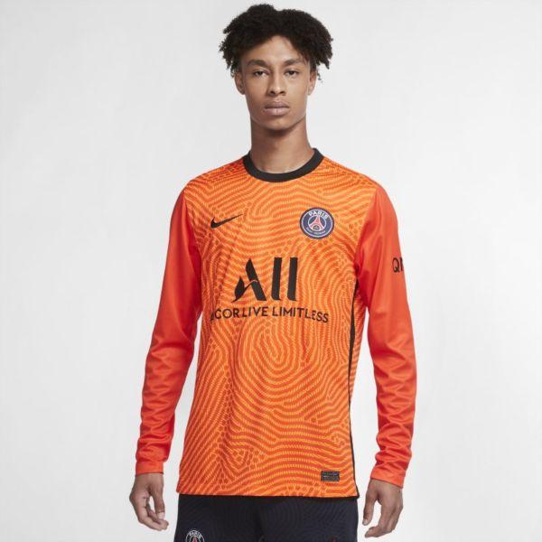 Equipación de portero Stadium París Saint-Germain 2020/21 Camiseta de fútbol de manga larga - Hombre - Naranja