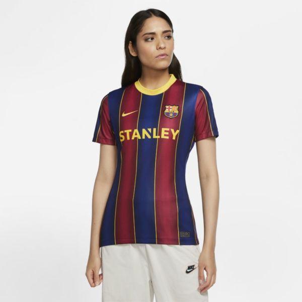 Primera equipación Stadium FC Barcelona Femenino 2020/21 Camiseta de fútbol - Mujer - Azul