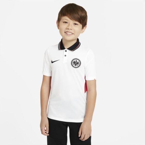 Segunda equipación Stadium Eintracht de Fráncfort 2020/21 Camiseta de fútbol - Niño/a - Blanco