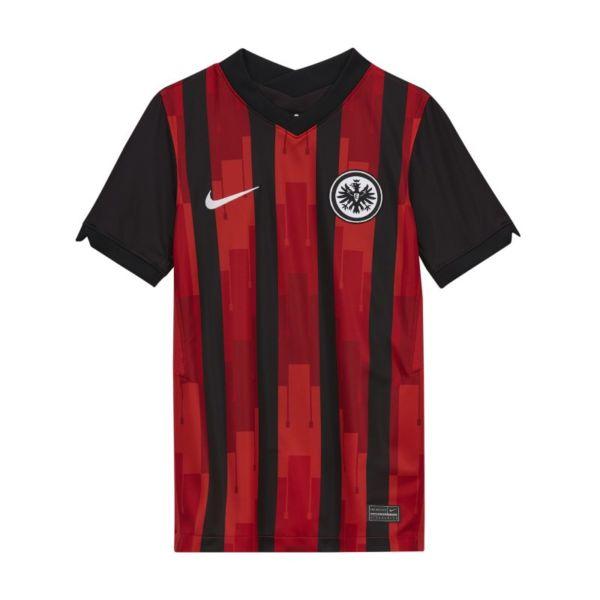 Primera equipación Stadium Eintracht de Fráncfort 2020/21 Camiseta de fútbol - Niño/a - Negro