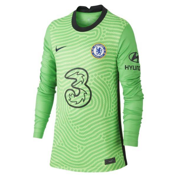 Equipación de portero Stadium Chelsea FC 2020/21 Camiseta de fútbol de manga larga - Niño/a - Verde
