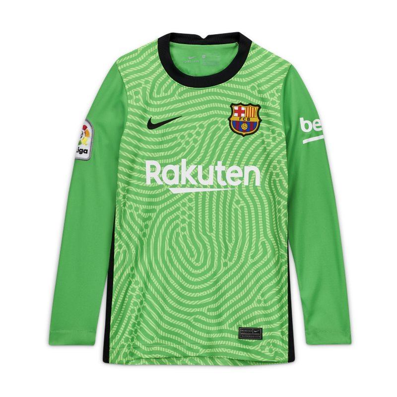 Equipación de portero Stadium FC Barcelona 2020/21 Camiseta de fútbol - Niño/a - Verde