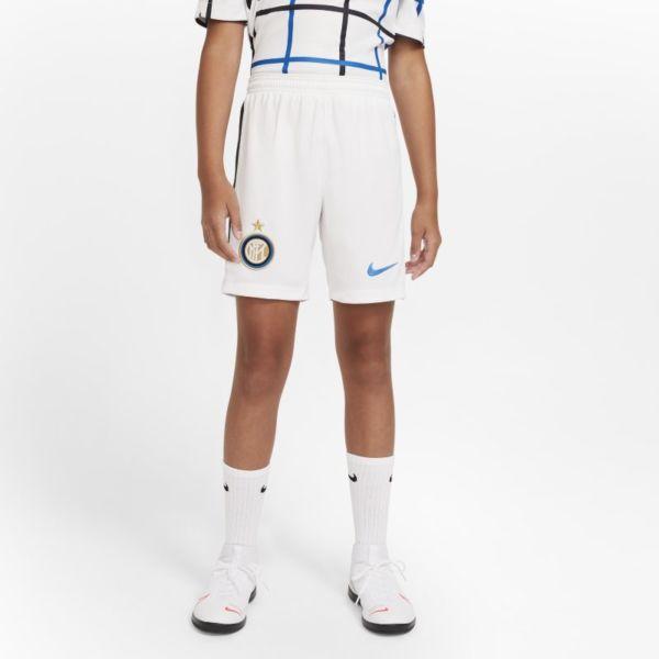 Primera/Segunda equipación Stadium Inter de Milán 2020/21 Pantalón corto de fútbol - Niño/a - Blanco