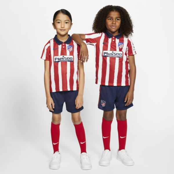Primera equipación Atlético de Madrid 2020/21 Equipación de fútbol - Niño/a pequeño/a - Rojo