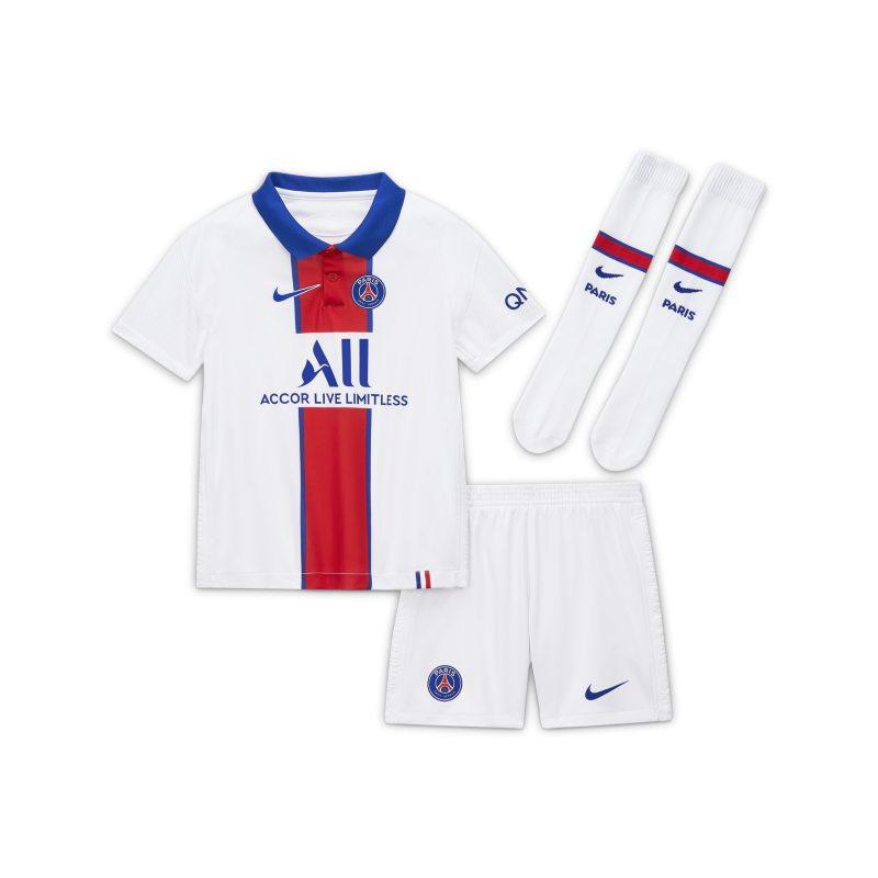Segunda equipación París Saint-Germain 2020/21 Equipación de fútbol - Niño/a pequeño/a - Blanco