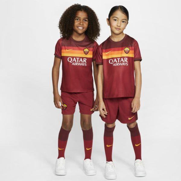 Primera equipación AS Roma 2020/21 Equipación de fútbol - Niño/a pequeño/a - Rojo