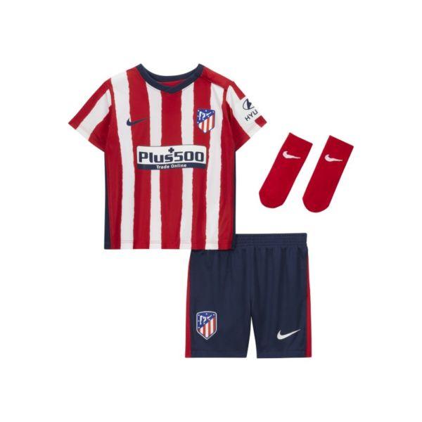 Primera equipación Atlético de Madrid 2020/21 Equipación de fútbol - Bebé e infantil - Rojo