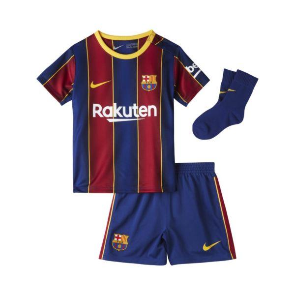 Primera equipación FC Barcelona 2020/21 Equipación de fútbol - Bebé e infantil - Azul