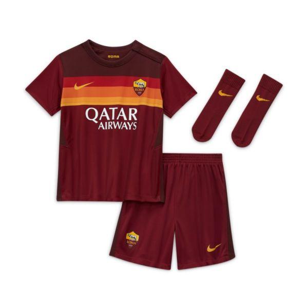 Primera equipación AS Roma 2020/21 Equipación de fútbol - Bebé e infantil - Rojo