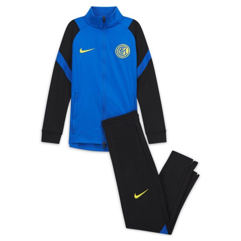 Strike Inter de Milán Chándal de fútbol de tejido Knit - Niño/a - Azul