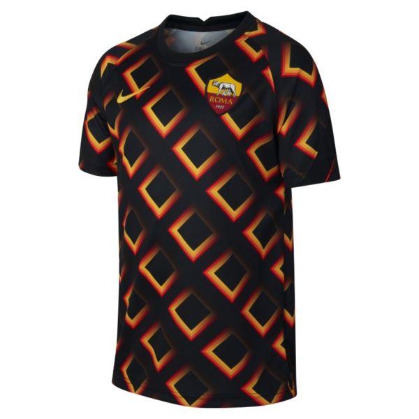 AS Roma Camiseta de fútbol de manga corta - Niño/a - Negro