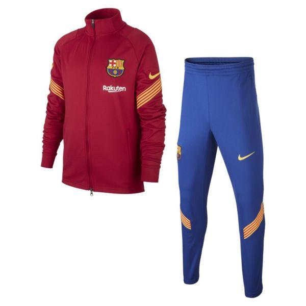 FC Barcelona Strike Chándal de fútbol - Niño/a - Rojo
