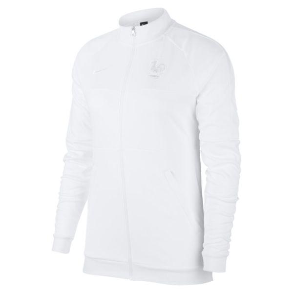 FFF Chaqueta deportiva de fútbol - Mujer - Blanco