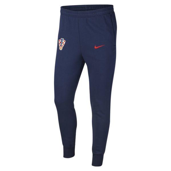 Croacia Pantalón de fútbol de tejido Fleece - Hombre - Azul