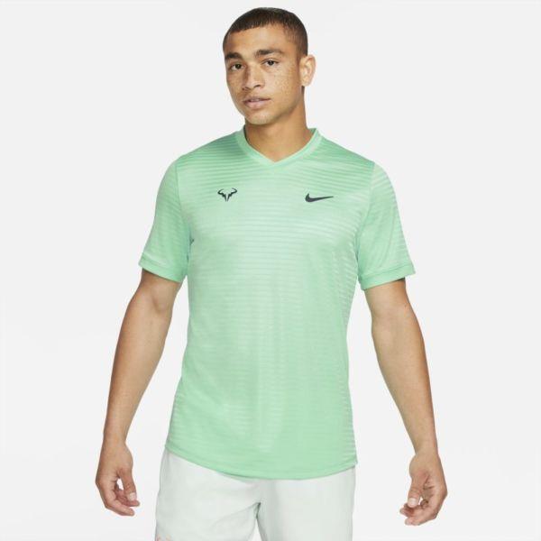 Rafa Challenger Camiseta de tenis de manga corta - Hombre - Verde