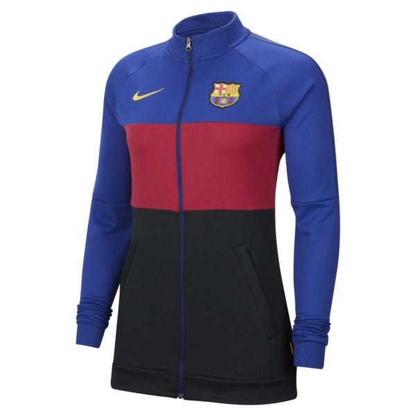 FC Barcelona Chaqueta de chándal de fútbol - Mujer - Azul