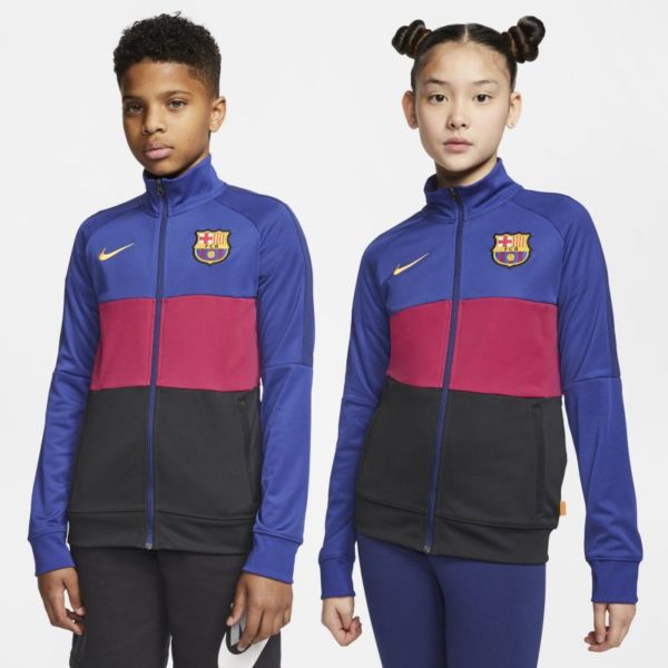 FC Barcelona Chaqueta deportiva de fútbol - Niño/a - Azul