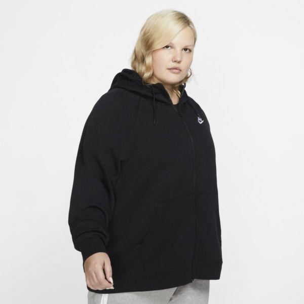 Nike Sportswear Essential Sudadera con capucha con cremallera completa - Mujer - Negro