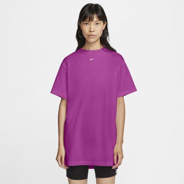 Nike Sportswear Essential Vestido - Mujer - Rojo