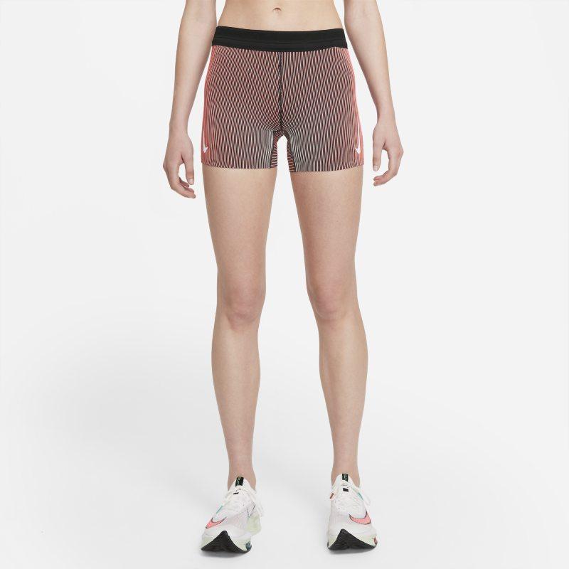 Nike AeroSwift Pantalón corto de running tipo malla - Mujer - Naranja