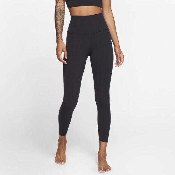 Nike Yoga Luxe Leggings de 7/8 con Infinalon y cintura alta - Mujer - Negro