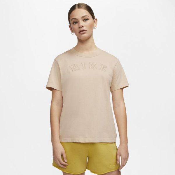 Nike Sportswear Camiseta - Mujer - Marrón