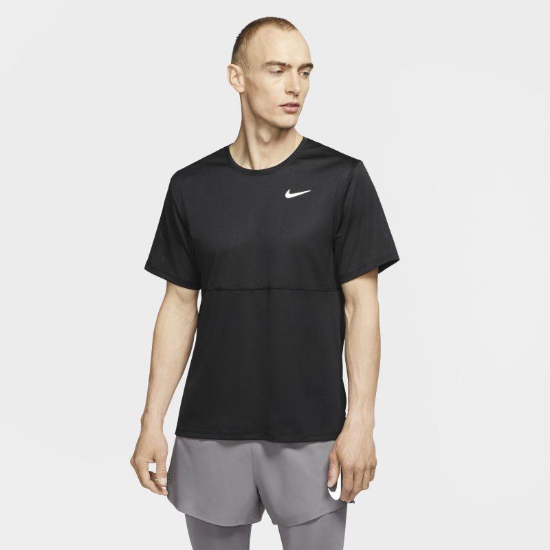 Nike Breathe Camiseta de running - Hombre - Negro