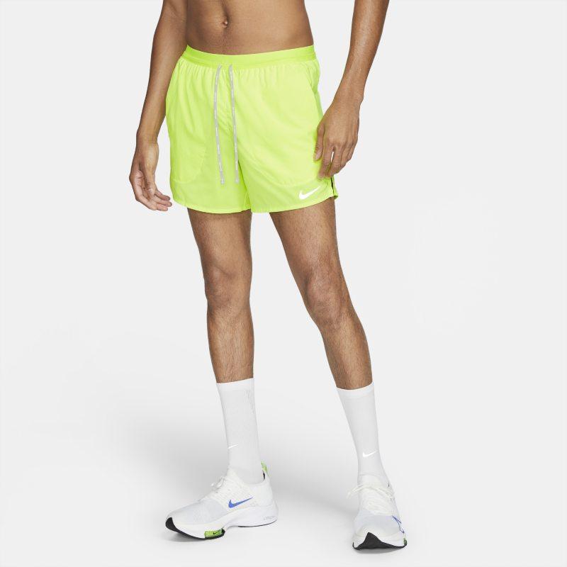 Nike Flex Stride Pantalón corto de running de 13 cm con slip - Hombre - Amarillo