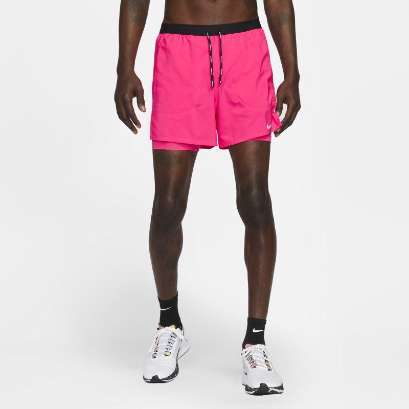 Nike Flex Stride Pantalón corto de running 2 en 1 de 13 cm - Hombre - Rosa