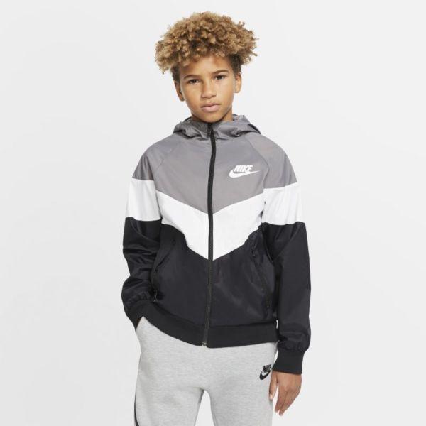 Nike Sportswear Windrunner Chaqueta - Niño/a - Gris