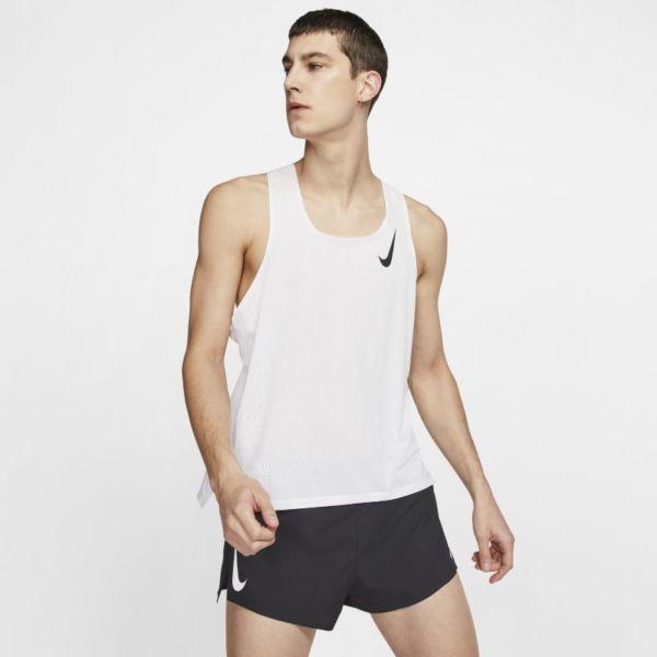 Nike AeroSwift Camiseta de running - Hombre - Blanco