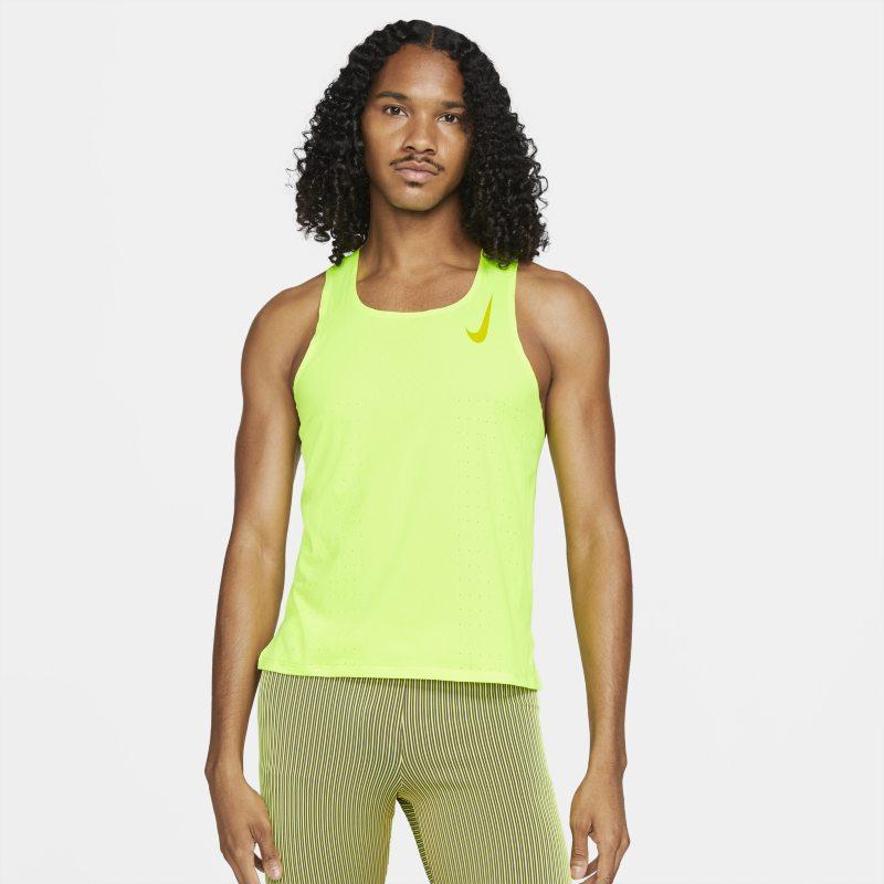 Nike AeroSwift Camiseta de running - Hombre - Amarillo