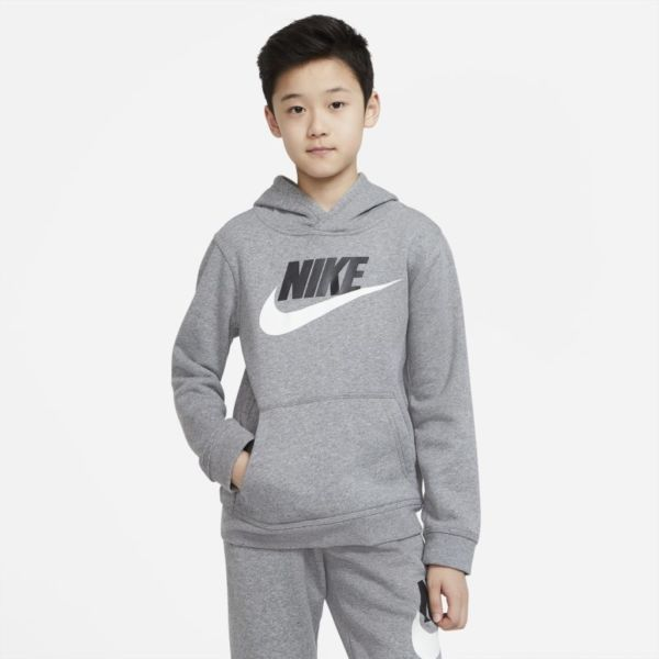 Nike Sportswear Club Fleece Sudadera con capucha - Niño/a - Gris
