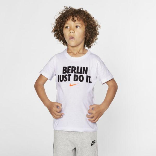 Nike Camiseta JDI - Niño/a pequeño/a - Blanco