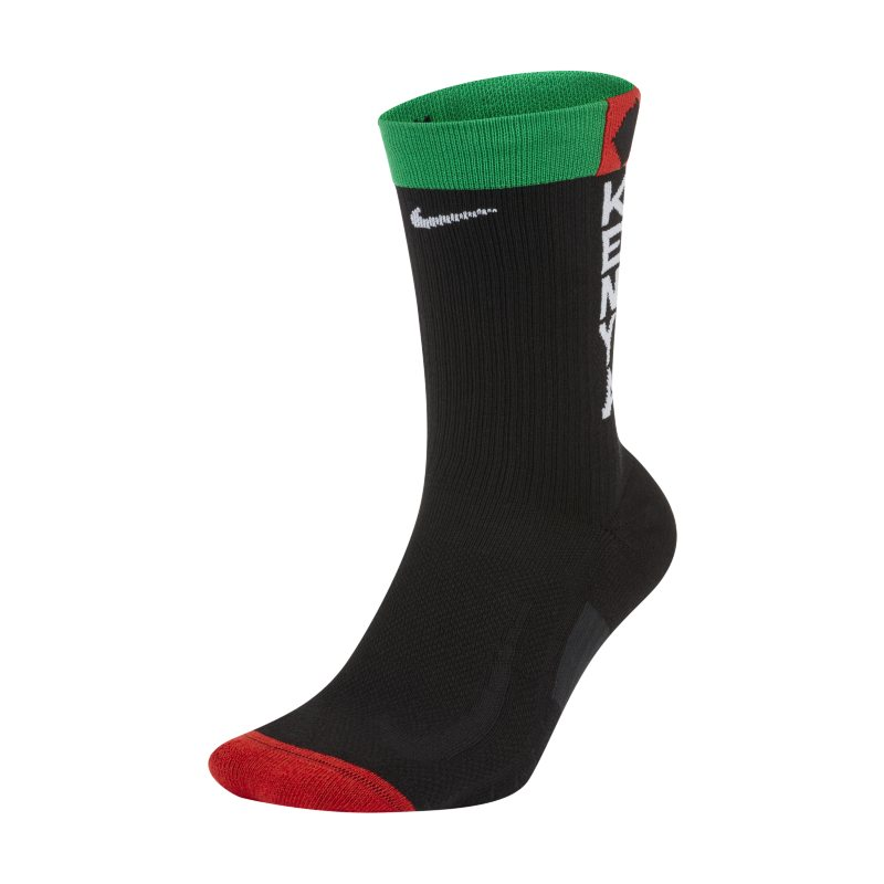 Nike Multiplier Team Kenia Calcetines largos de running - Negro