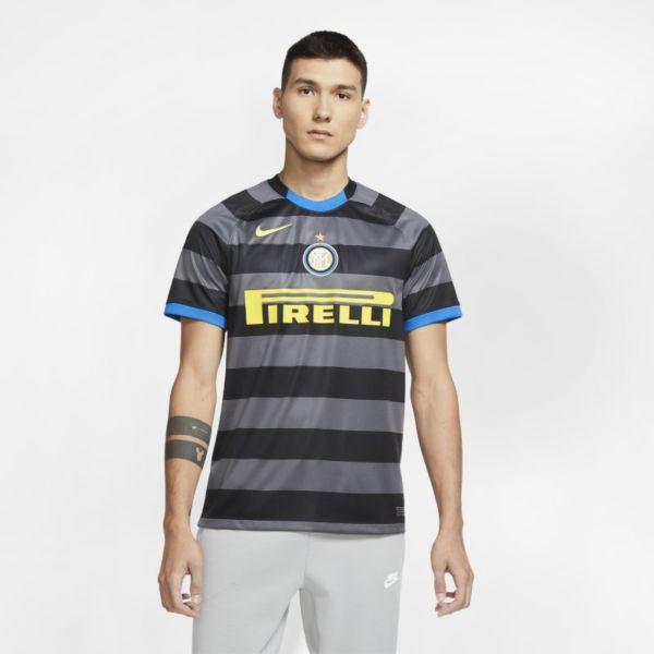 Tercera equipación Stadium Inter de Milán 2020/21 Camiseta de fútbol - Hombre - Gris