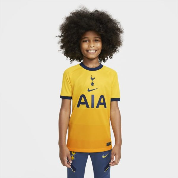 Tercera equipación Stadium Tottenham Hotspur 2020/21 Camiseta de fútbol - Niño/a - Amarillo