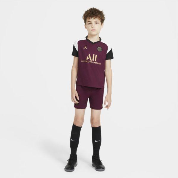 Tercera equipación París Saint-Germain 2020/21 Equipación de fútbol - Niño/a pequeño/a - Morado