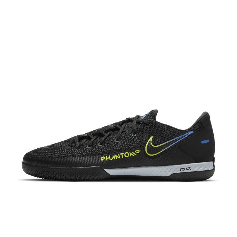 Nike React Phantom GT Pro IC Botas de fútbol sala - Negro