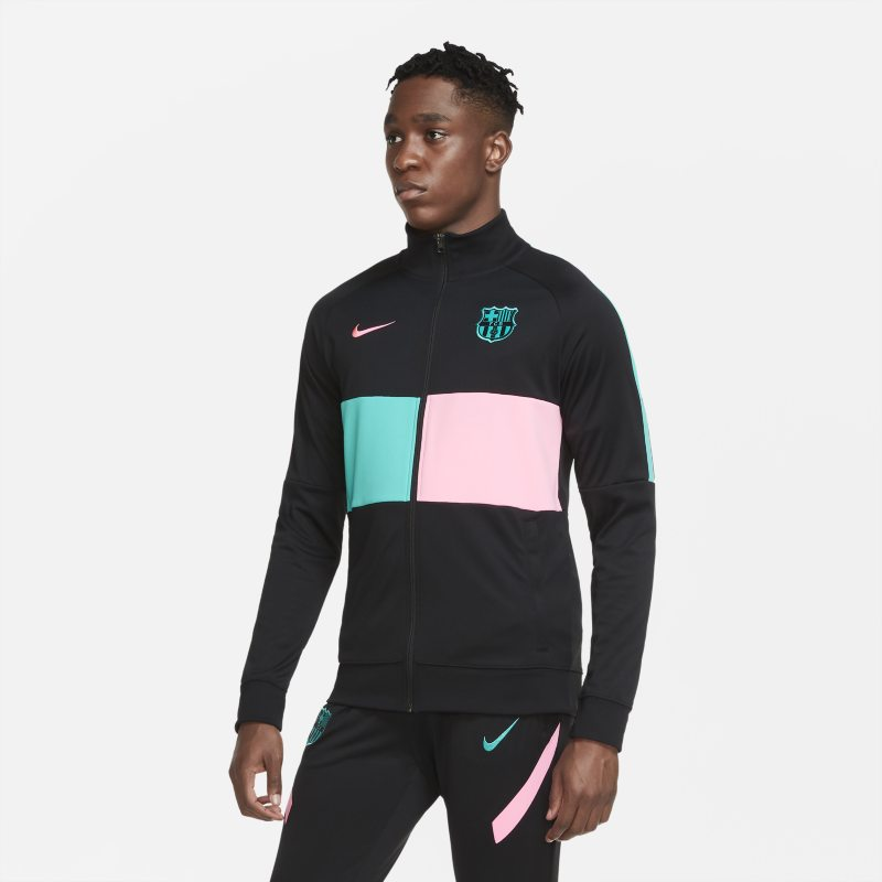FC Barcelona Chaqueta de chándal de fútbol - Hombre - Negro