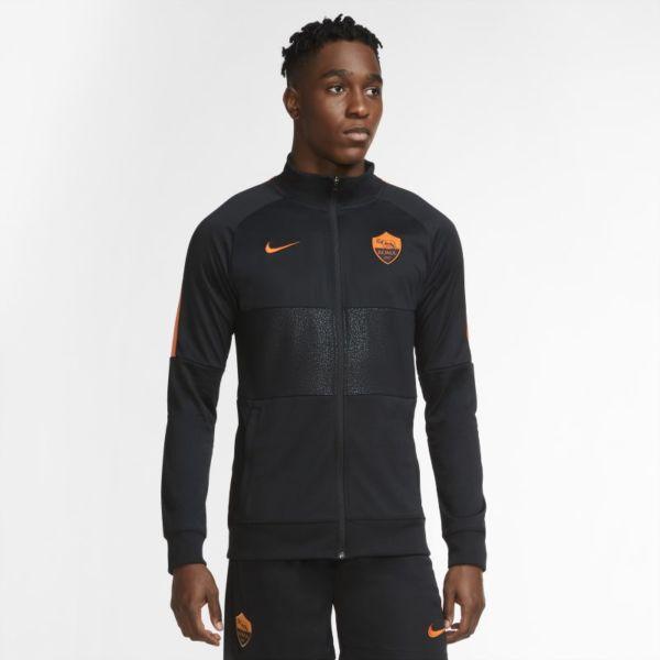 AS Roma Chaqueta de chándal de fútbol - Hombre - Negro