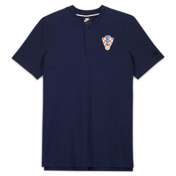 Croacia Polo - Hombre - Azul