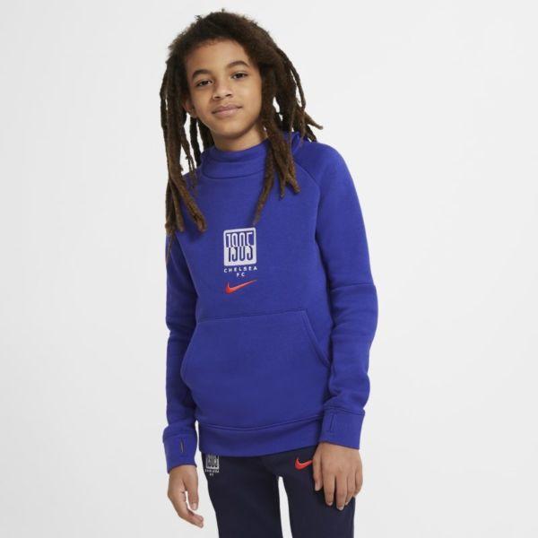 Chelsea FC Sudadera con capucha de tejido Fleece - Niño/a - Azul