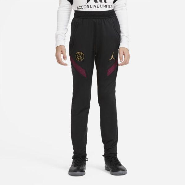 París Saint-Germain Strike Pantalón de fútbol de tejido Knit - Niño/a - Negro