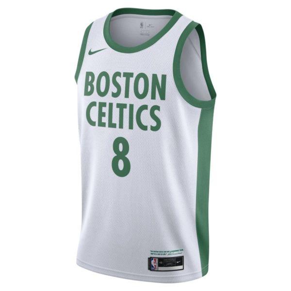 Kemba Walker Boston Celtics City Edition Camiseta Nike NBA Swingman - Blanco