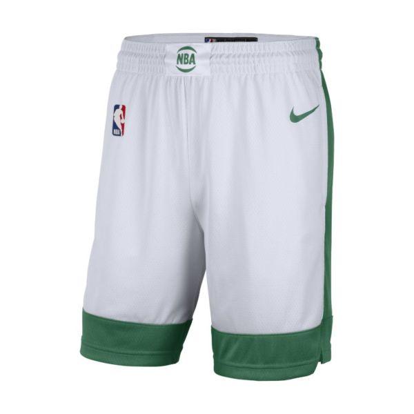 Boston Celtics City Edition 2020 Pantalón corto Swingman Nike de la NBA - Hombre - Blanco